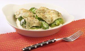 Receta brócoli al gratín