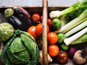 mercado de vegetales