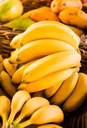 bananas frutas mercado