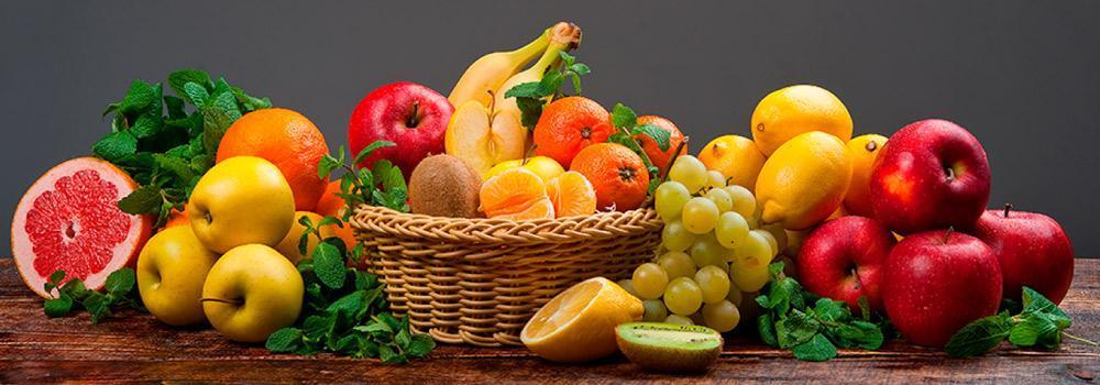 frutas en plazas