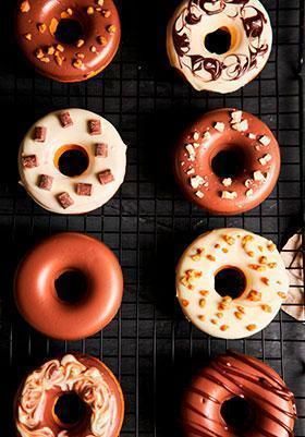 Variedad de Donuts