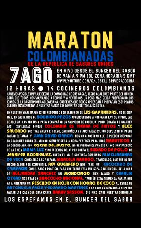 Maraton de colombianadas