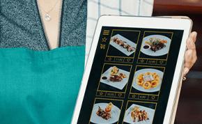 menu digital del restaurante