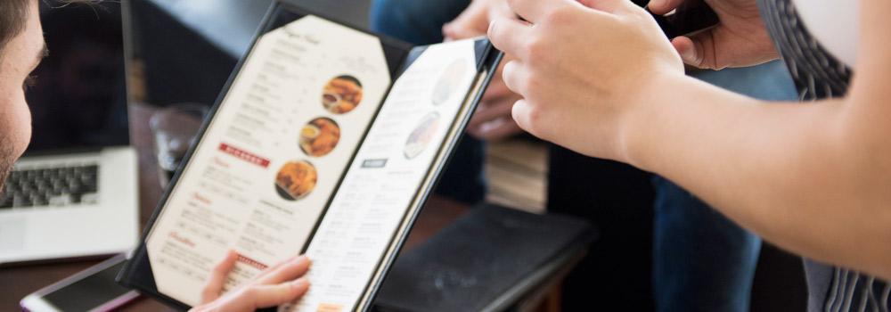 personalizacion del menu restaurante