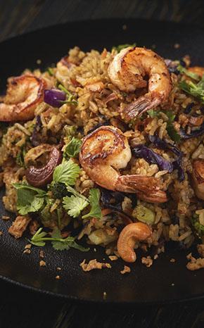 arroz con camarones eventos colombia