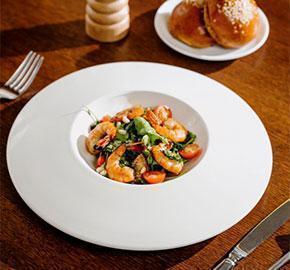 plato de restaurante menu personalizado