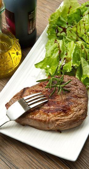 carne con vinagre balsamico