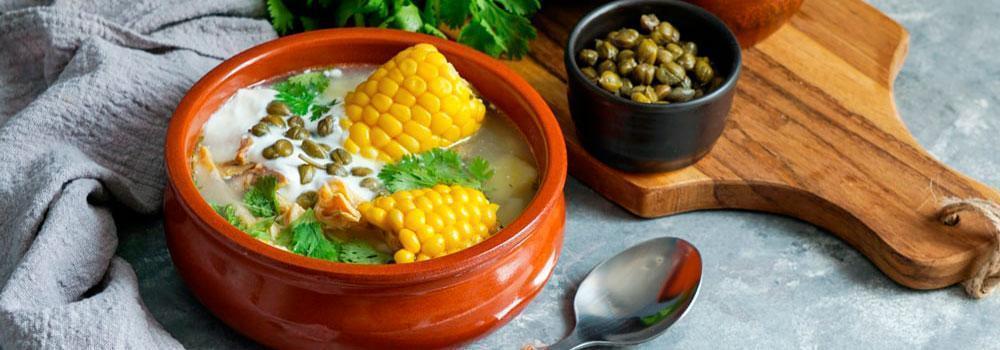 sopa tipica colombiana ajiaco