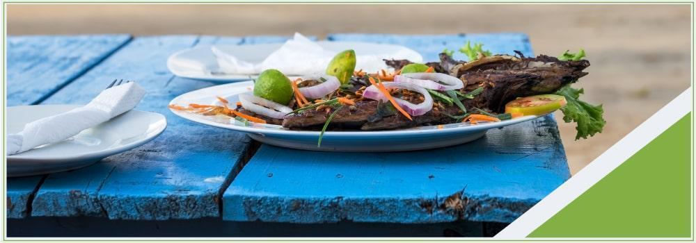 Herencia y sabor en la región del caribe