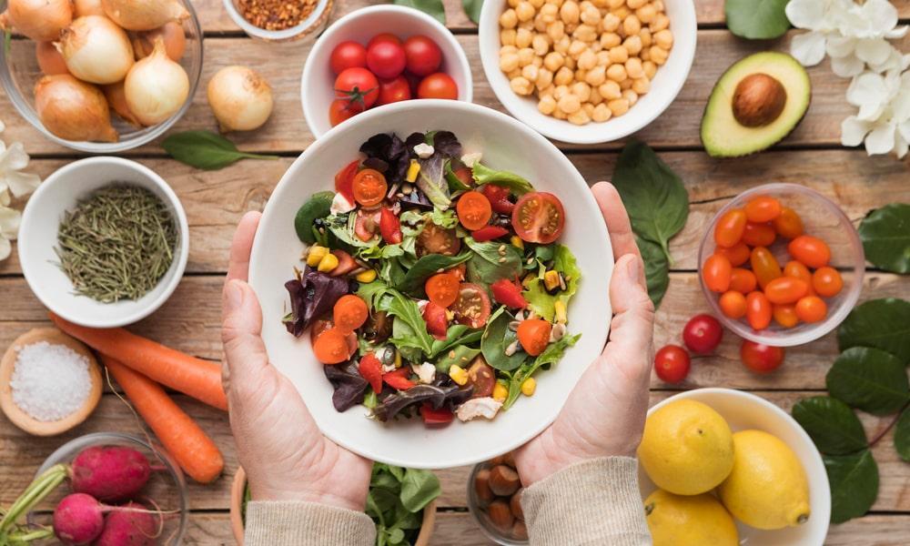 Alimentacion saludable y sostenible