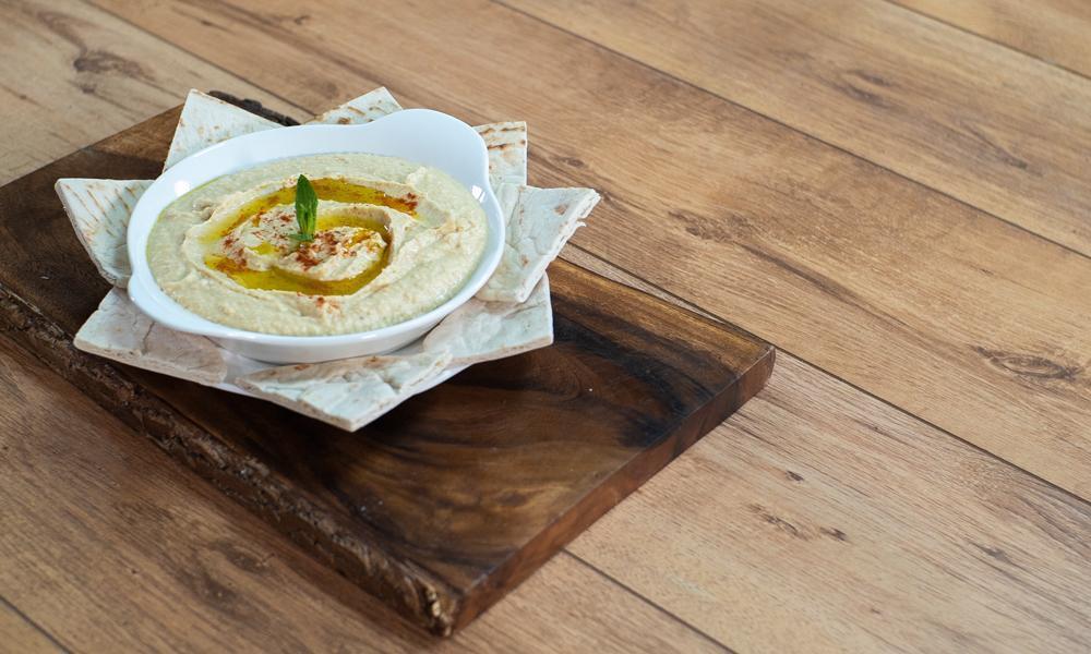 receta Hummus de garbanzo y maní