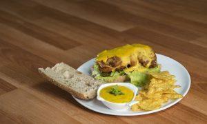 sandwich crocante con milanesa