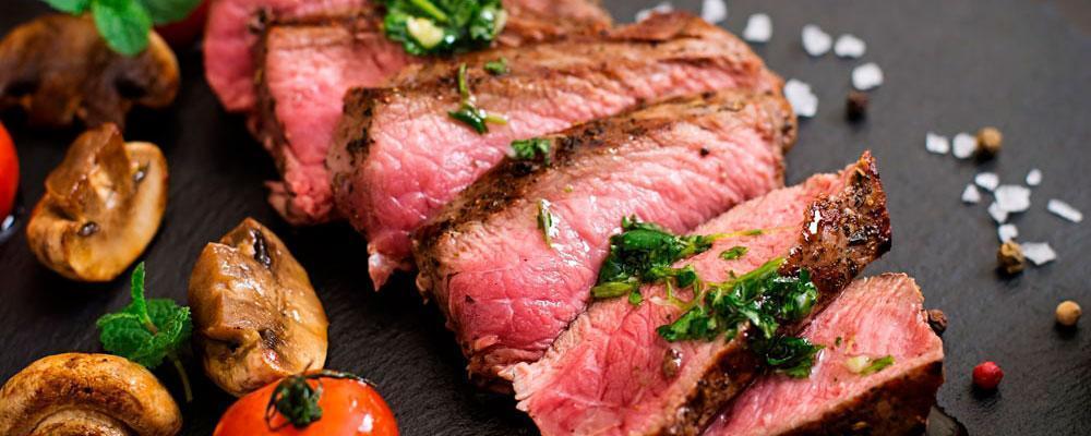 carne jugosa marinada