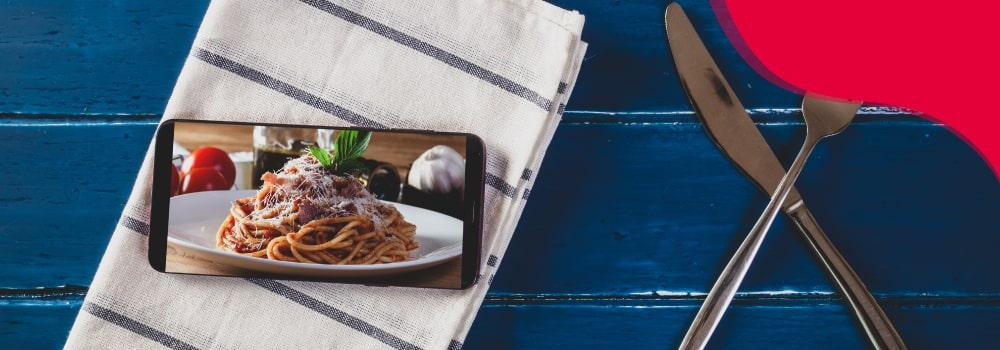 Boom de la comida virtual
